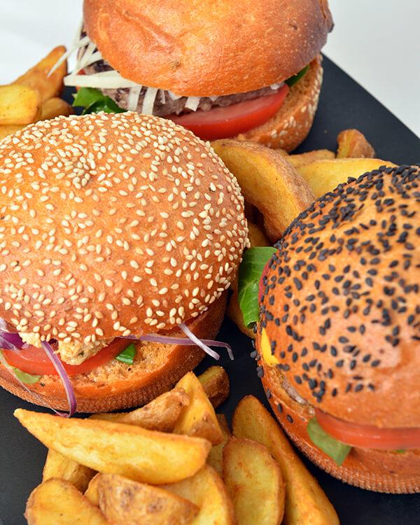 Burger & hamburger frites