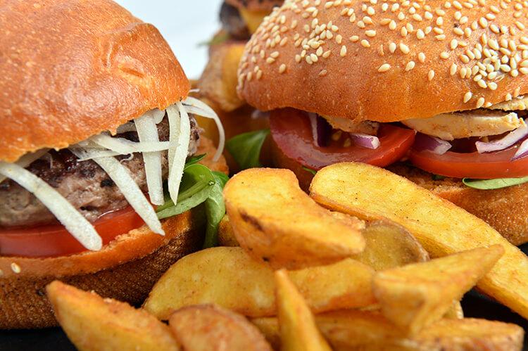 Burger & hamburger