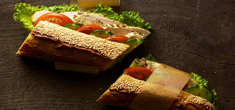 Sandwichs frais