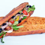 Sandwich Jambon Crudités