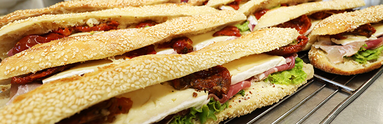 Sandwich Tomates séchées