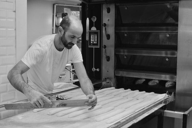 Fabrication des baguettes Tradition